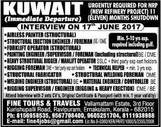 Refinery Shutdown project jobs in Kuwait