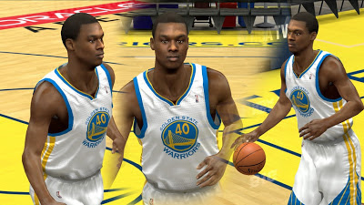 NBA 2K13 Harrison Barnes Cyber Face Download