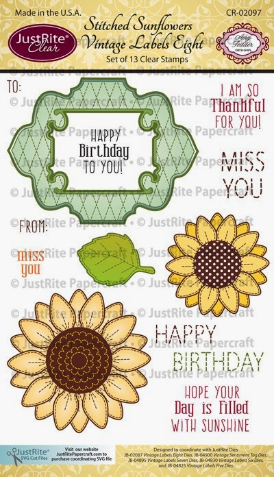 http://justritepapercraft.com/collections/2014-july-release/products/stitched-sunflowers-vintage-labels-eight