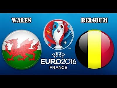 WALES - BELGIUM 1/4 UEFA EURO 2016