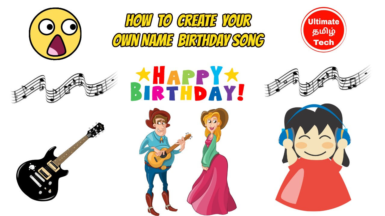 How to Create Your Own Name Birthday Song - Wonderful Girl