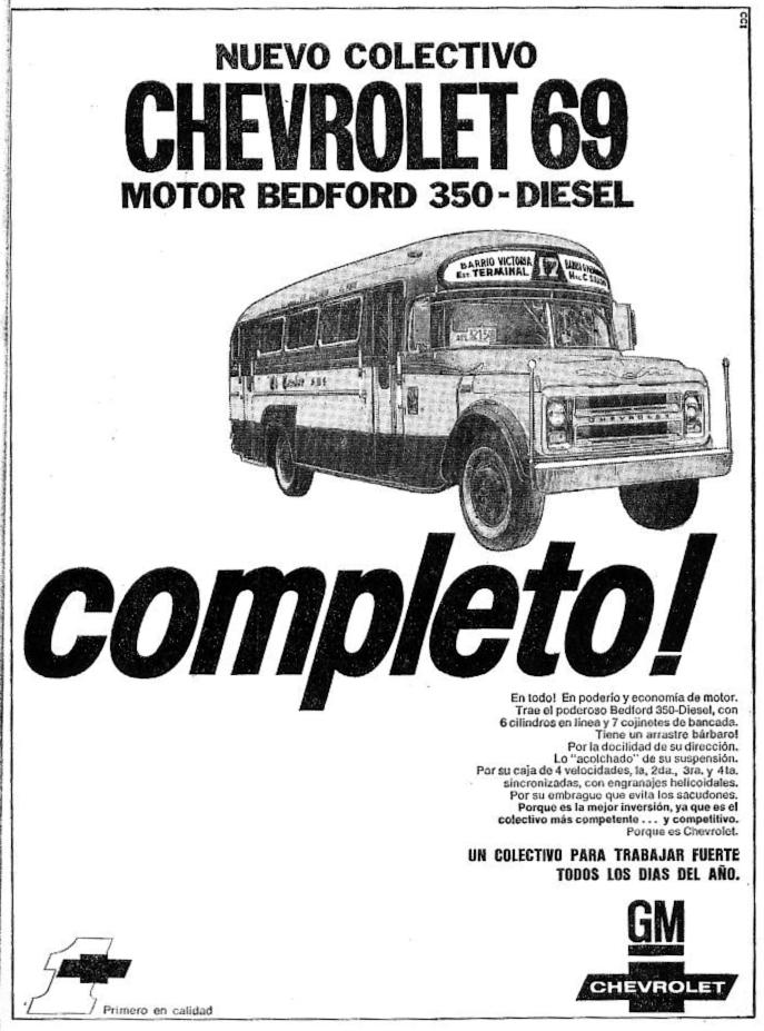 Camión Argentino: Chevrolet B-60/C-60