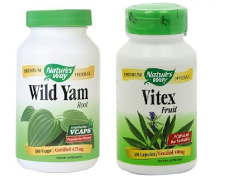 Image: Nature's Way Vitex or Wild Yam