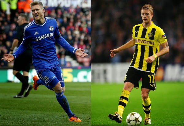 Schurrle exchange deal with Reus