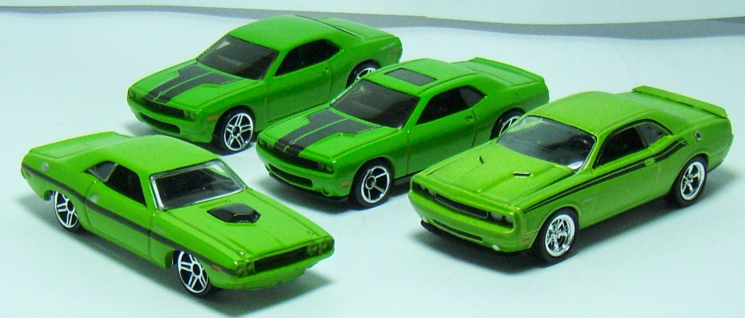 Green With Envy Hot Wheels 1970 Dodge Challenger R T 2006 Concept And Greenlight 2011