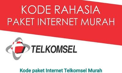 Kode Rahasia Paket internet Murah Telkomsel