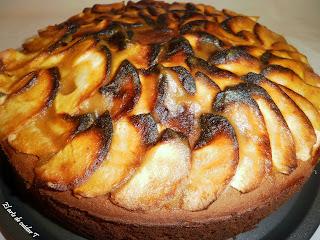 Receta de tarta de manzana sin gluten ni azucar añadido