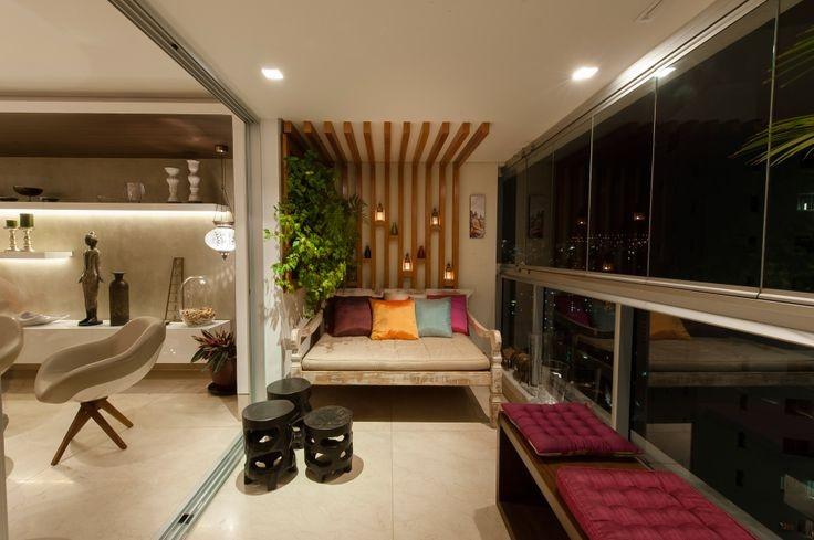 Construindo Minha Casa Clean Varandas Sacadas Integradas as Salas! Veja Como Decorar! # Decoração De Sacada Gourmet Pequena