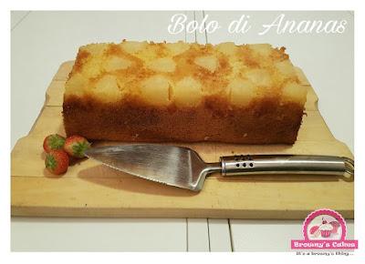 Bolo di anansa - ananas taart recept