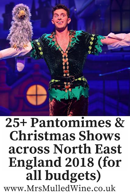 25+ Pantomimes & Christmas Shows across North East England 2018 (for all budgets)