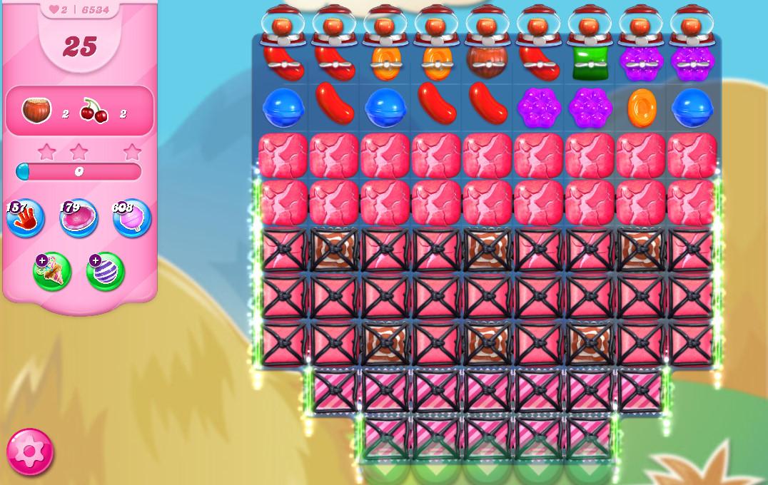 Candy Crush Saga level 6534