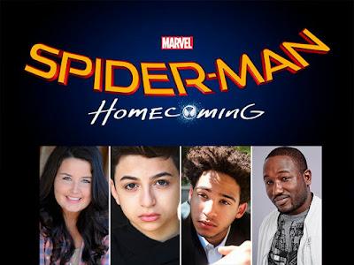 Cuatro nuevas incorporaciones al reparto de 'Spider-man: Homecoming'