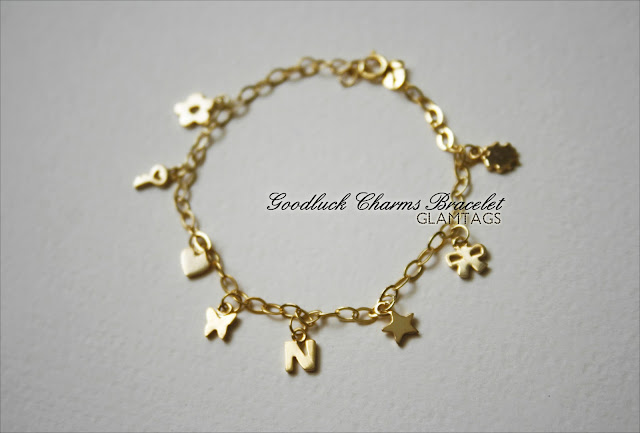 60fd7bb0f3b Goodluck Charms Bracelet. Made of high quality, super shiny mirror-finish  925 Sterling Silver FREE 18K White / Yellow / Rose GOLD plating. RM49 with  4 icons