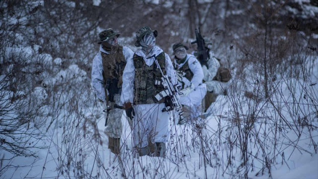 Corea del Sur y EEUU realizan ejercicio militar conjunto