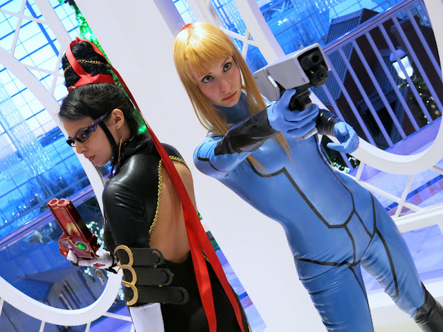 Bayonetta Samus Metroid cosplay hd