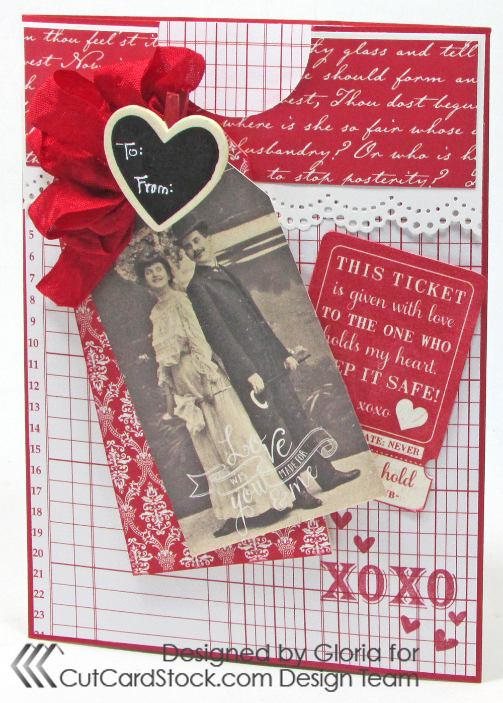 American Crafts With Love Envelope Pad