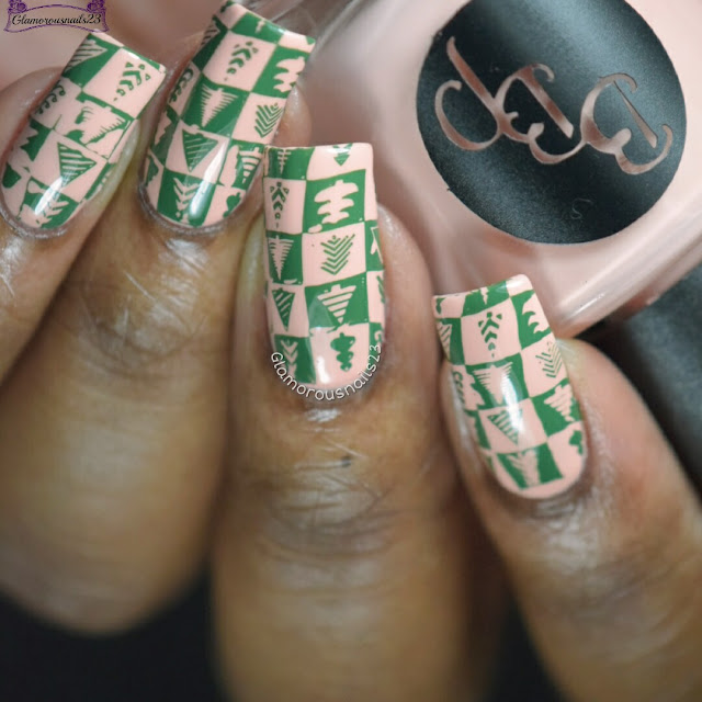 Winter Nail Art Challenge 2016 Day 19 - Christmas Tree