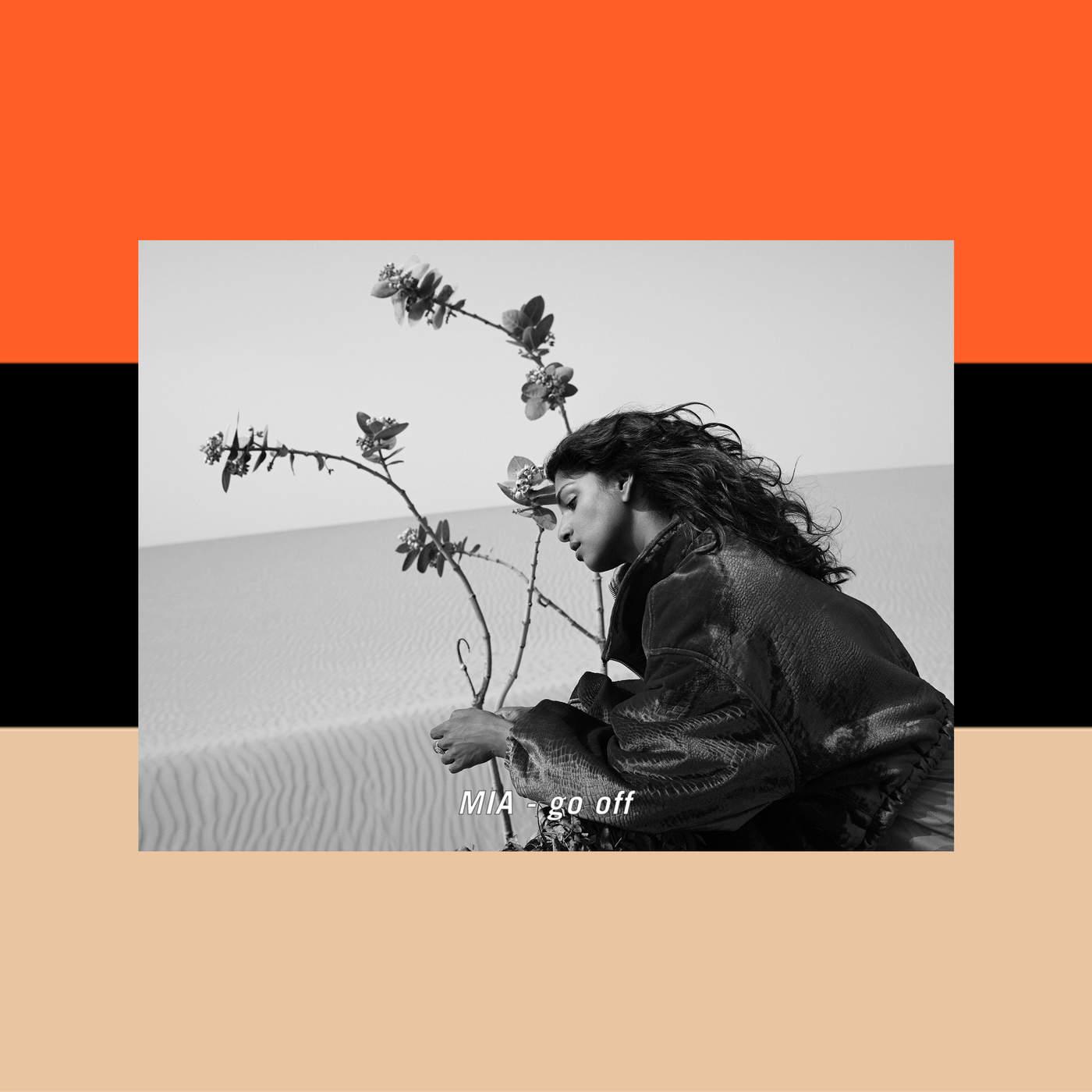 M.I.A. - Go Off - Single Cover