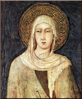 Saint Clare of Assisi - PD-1923
