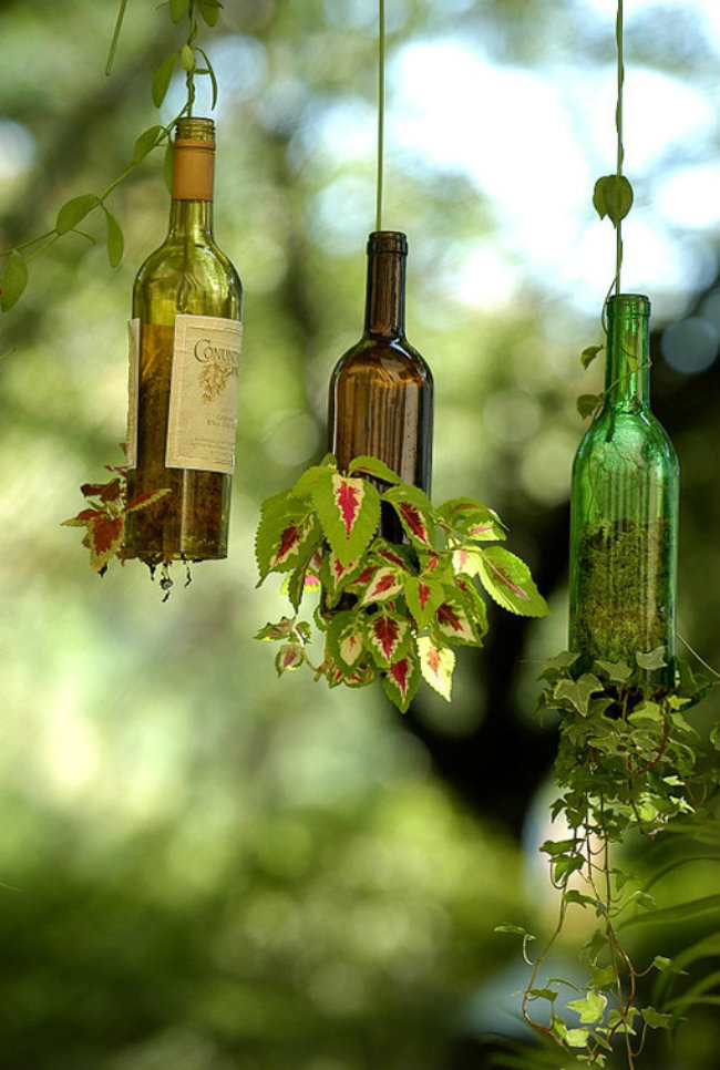 Hasil gambar untuk Tempat Lilin Kerendari botol kaca bekas