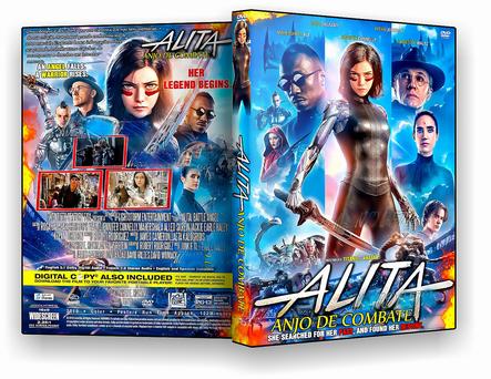 CAPA DVD – Alita Anjo de Combate – ISO – CINEMA