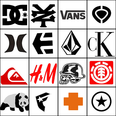 Logo Designs: Famous Clothing Logos