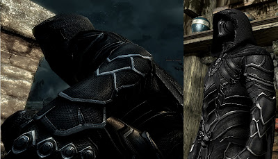 Skyrim Texture Mod: Nightingale Prime Armor