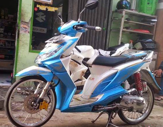 modifikasi motor beat 2010