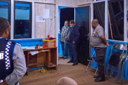 Perketat Kendaraan di Boven Digoel, Yoseph Awunim Kunjungi Pos Kampung Kuda