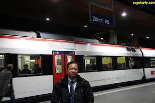 Stasiun Zurich HB