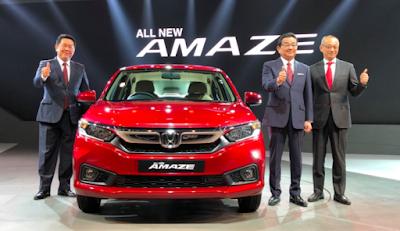 Auto Expo 2018: Honda unveiled new generation Amaze, know how many updated cars