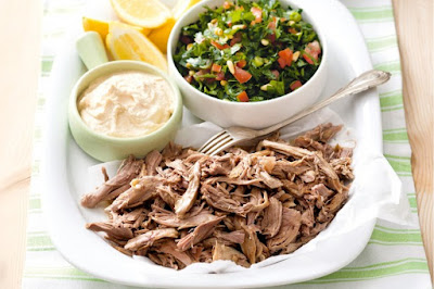 Lamb with hummus and tabouli platter meal ideas meal ideas