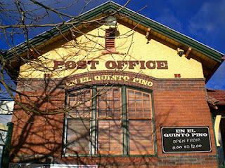 Cómo buscar una oficina de correos y acabar perdida tranvía: oficina