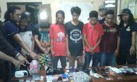 Diduga Terkait Narkotika, Sejumlah Warga di Kota Bima Dibekuk Tim Opsnal Sat Narkoba