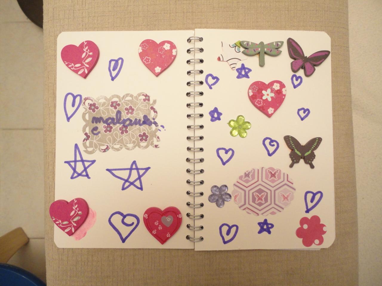 l 39 atelierscrap d 39 aurore les carnets spirale des enfants. Black Bedroom Furniture Sets. Home Design Ideas