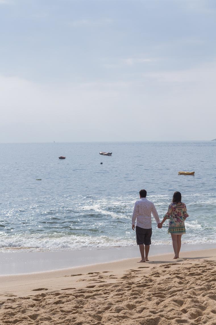 Ensaio de casal Praia Vermelha