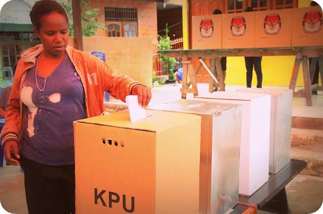 KPU Papua Pastikan Pelaksanan Pilkada di Kabupaten Sarmi