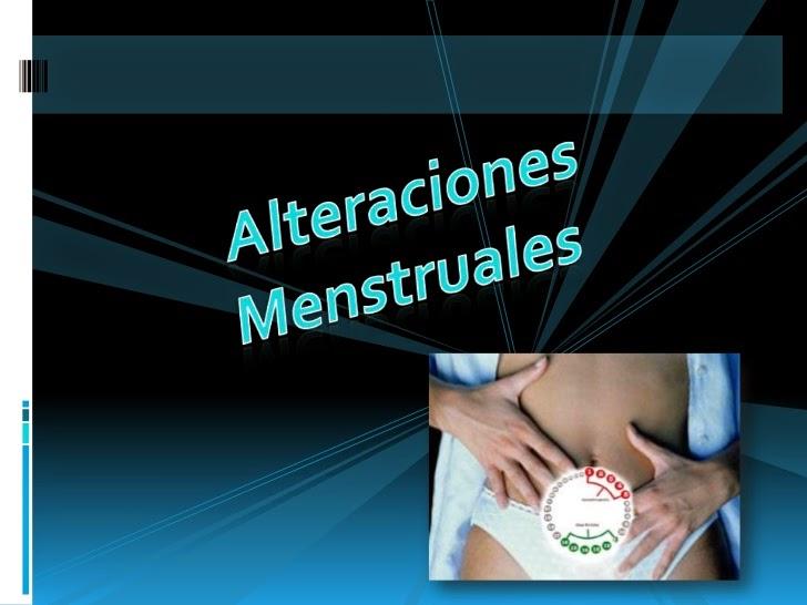 Alteraciones menstruales Amenorrea primaria dismenorrea
