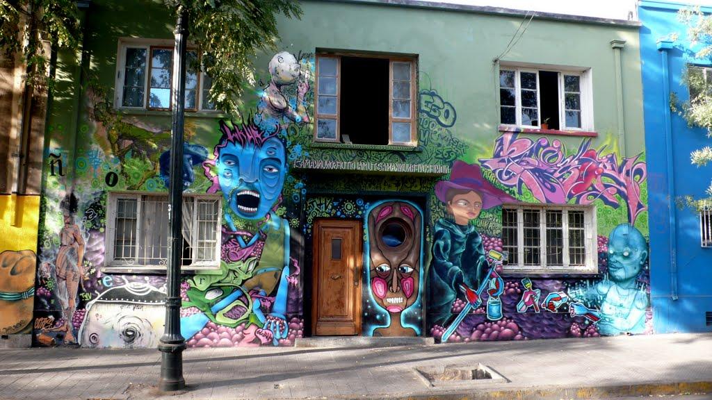 Uulitsakunst - Street art of Santiago de Chile - Arte ...