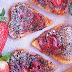 Corazones de hojaldre con Nutella y fresas