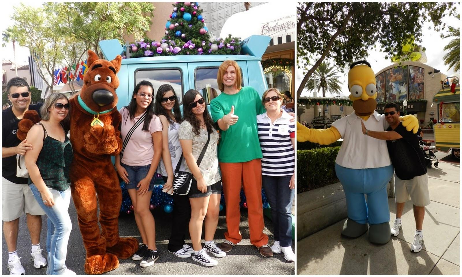Universal Studios Personagens