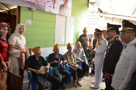Dihari Kemerdekaan, Veteran Pejuang ini Miliki Rumah Layak Huni