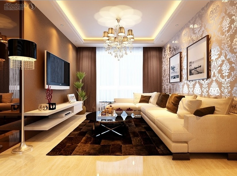 Desain Ruang Tamu Ruang Tamu Mewah Dengan Gaya Minimalis Modern