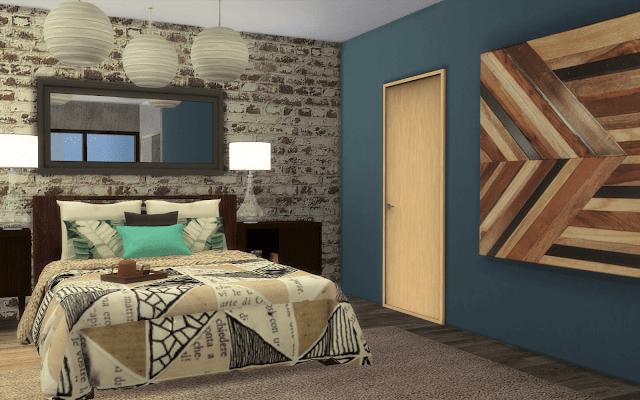 chambre sims 4 romantique