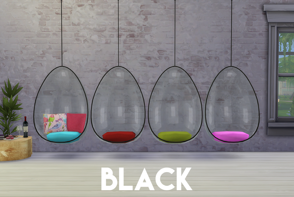 My Sims 4 Blog Ts3 Hanging Chair Conversion By Omorfimera