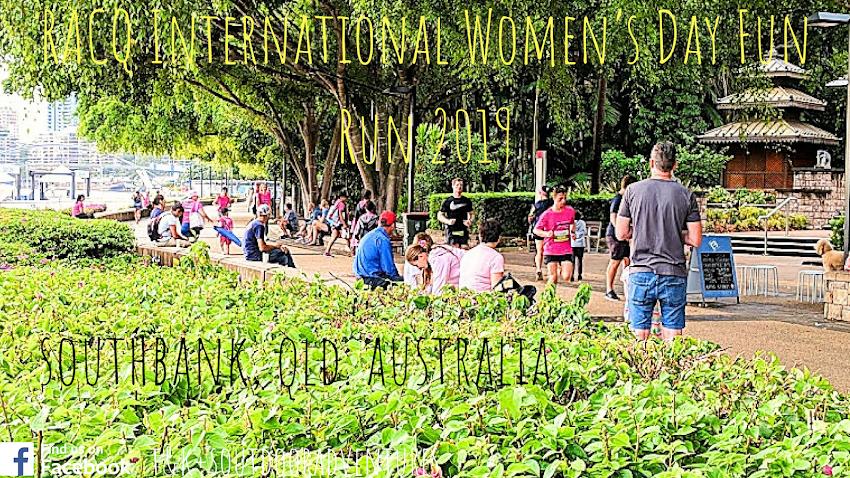 Volunteering At RACQ International Women's Day Fun Run 2019