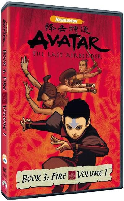 avatar a lenda de aang dvd-r