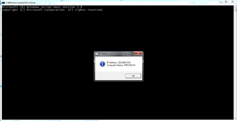 Code Samples: VBScript