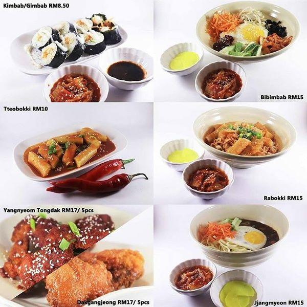 Harga Makanan Restoran Korea Uri Jeju Kulim
