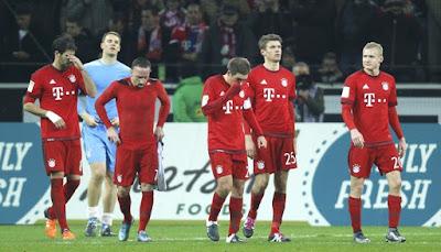 Bayern Tumbang di Kandang Gladbach